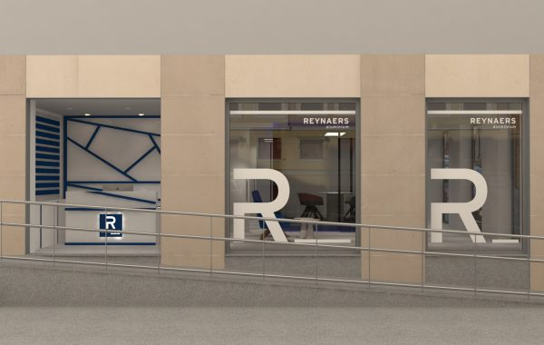 Showroom Reynaers Aluminium Madrid