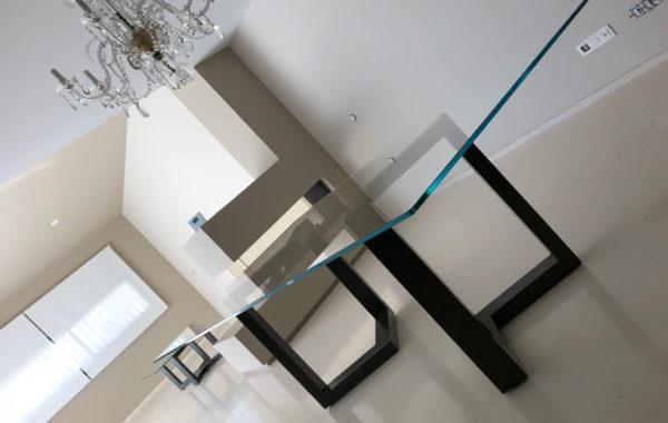 Mesa en Vidrio Extraclaro