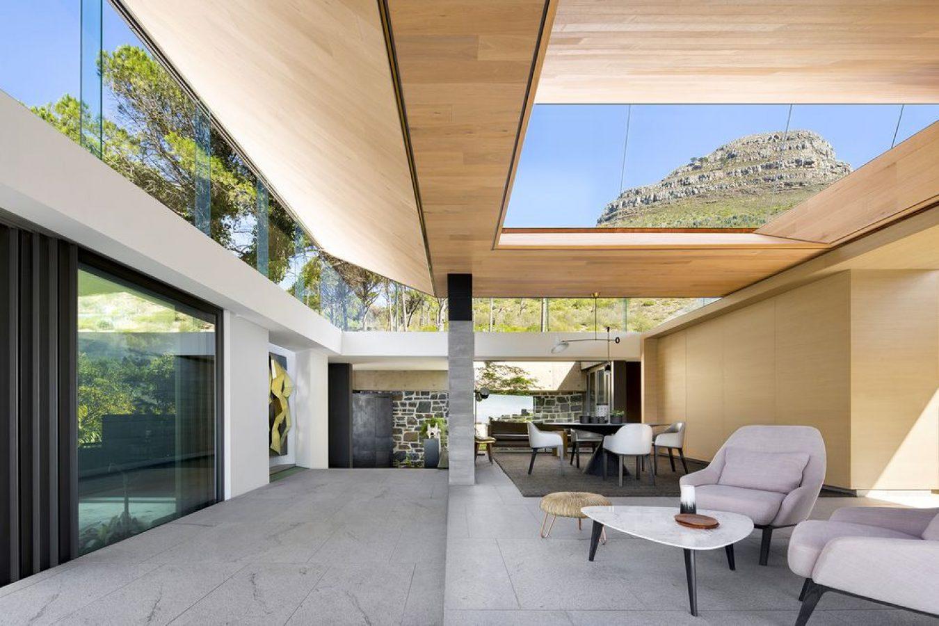 Casa abierta a la Naturaleza